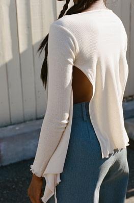 Baserange Kosa Wrap Long Sleeve - chic edition