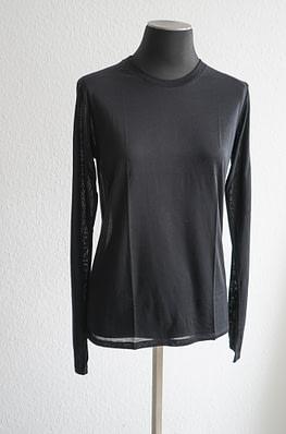 Baserange Long Sleeve Tee Black - chic edition