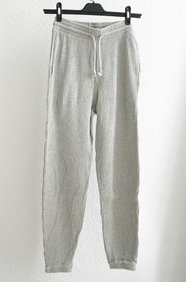 Baserange Sweat Pants Rib Grey Melange