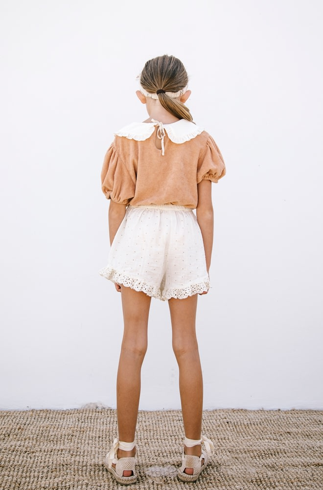 LiiLU Terry Blouse | chic edition