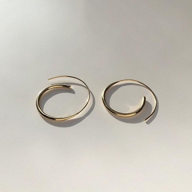 BAR JEWELLERY ARC Earrings | chic edition