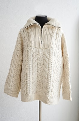 Mr Mittens (I love mr mittens) Cable Zip Up Jumper