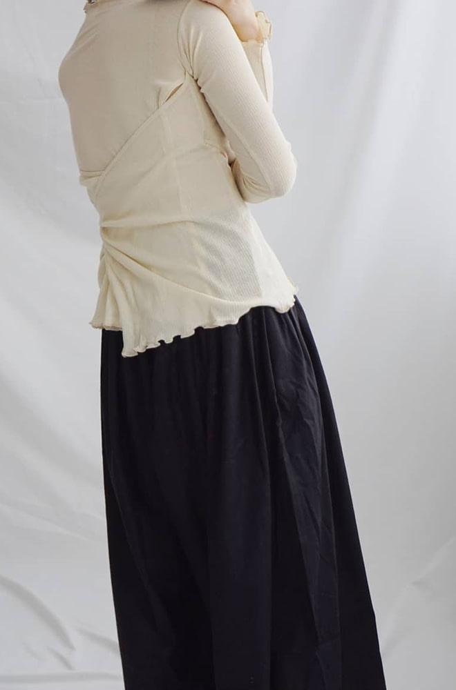 Baserangeベースレンジ Kosas Wrap Long Sleeve- chic edition