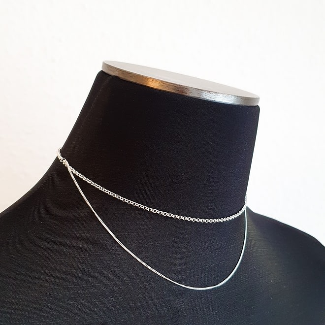 BAR JEWELLERY Cascade Necklace | chic edition