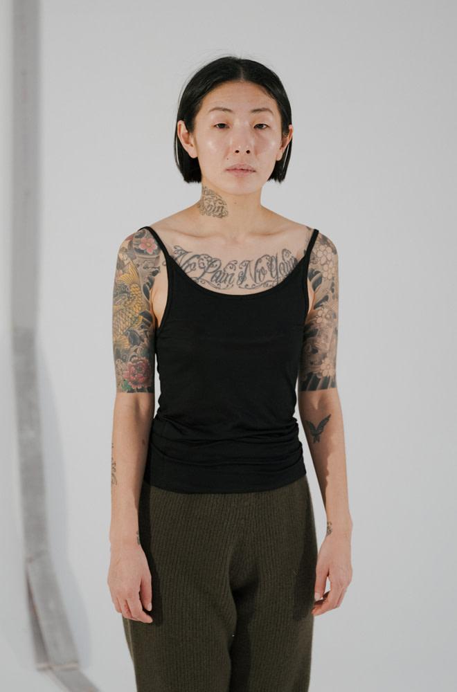 BASERANGE Tank Top - Bamboo Jersey | chic edition