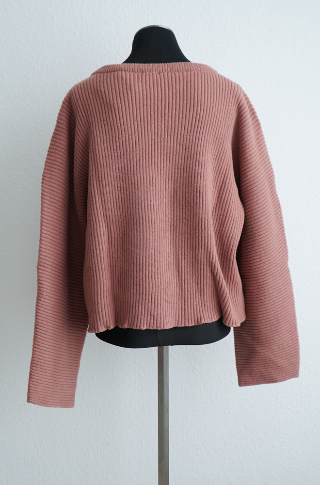 BASERANGE Kai Sweater - Merinos Wool Rib | chic edition